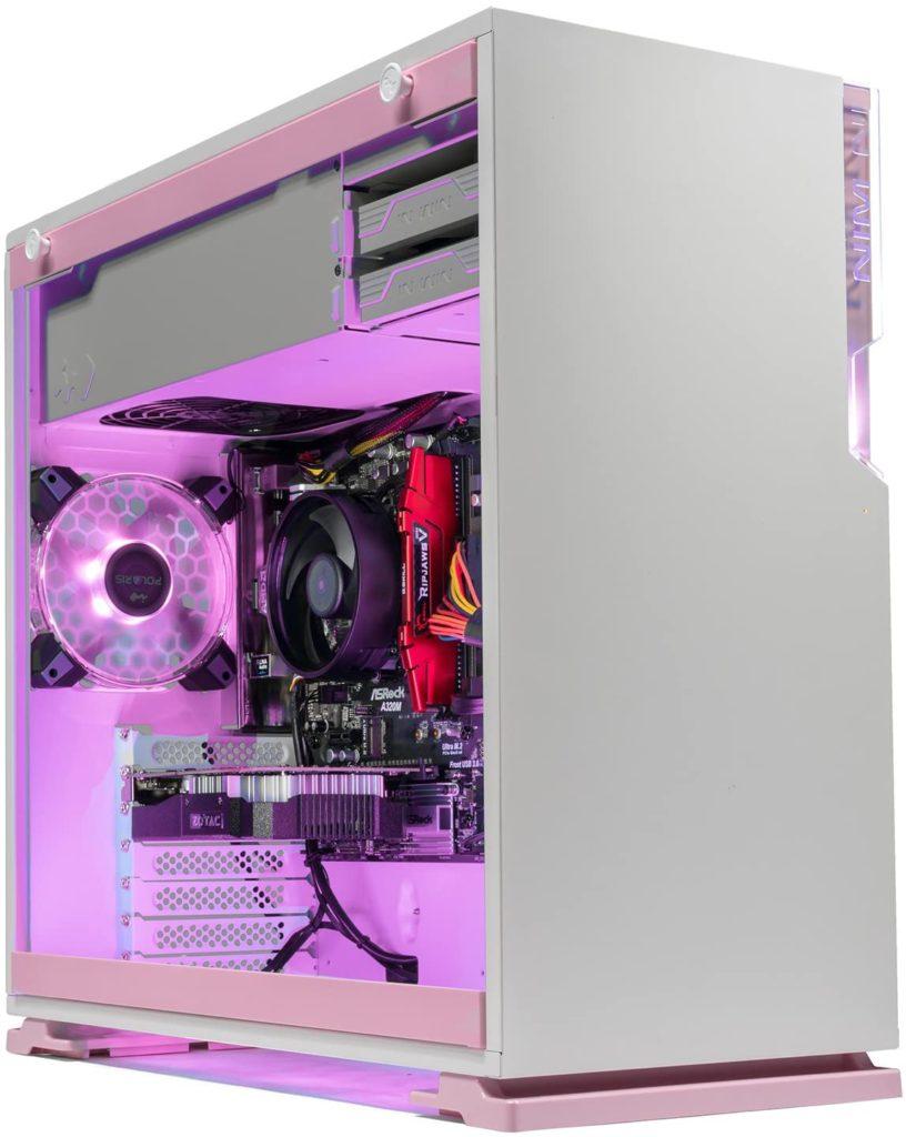 PC Gamer Rosa