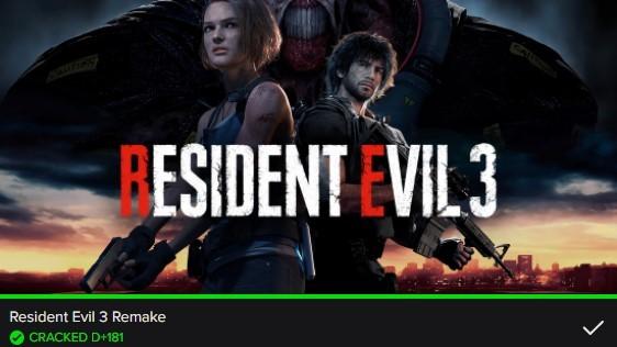 resident evil 3 crackedo después de 181 días