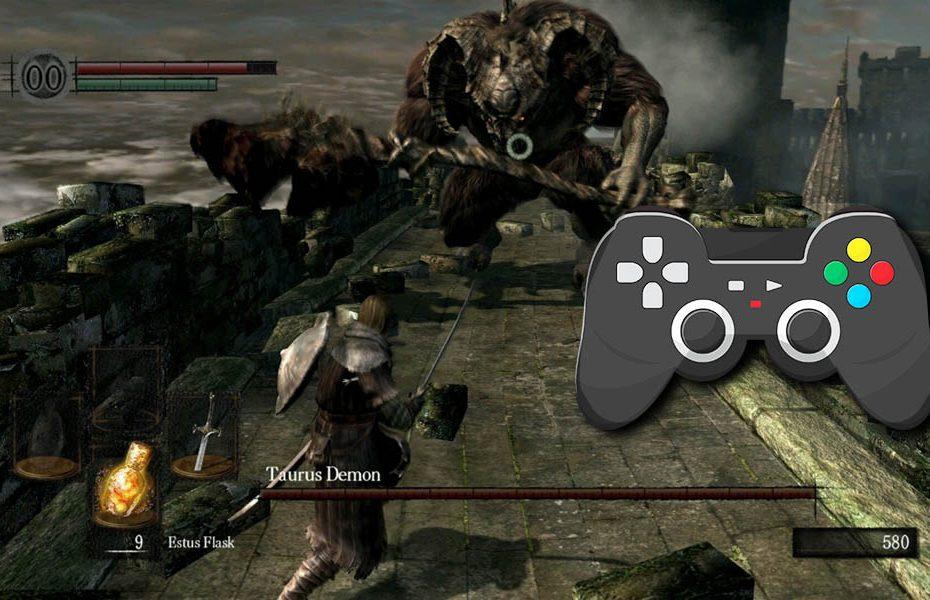 Dark Souls Remastered PC cómo usar control de ps3