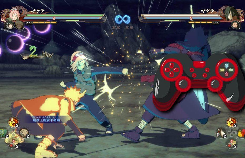 Naruto Shippuden Ultimate Ninja Storm 4 cómo usar control genérico