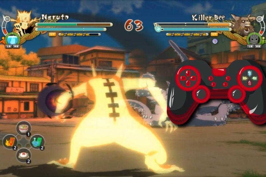 Naruto Shippuden Ultimate Ninja Storm Revolution pc usar control genérico