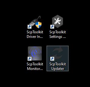 Imagen programas Scp Toolkit