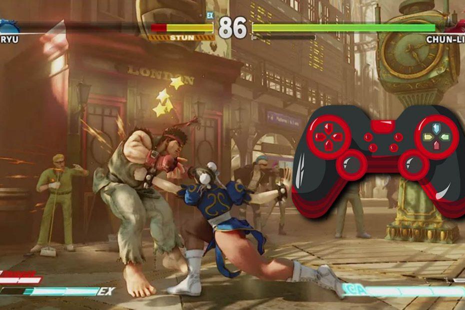 street fighter v como usar control generico