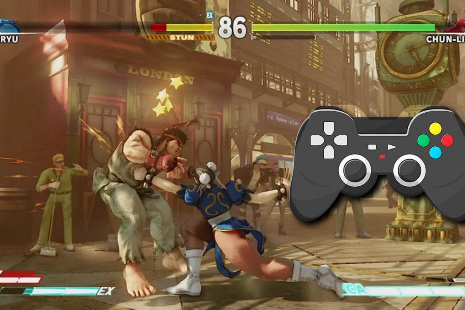 street fighter usar control de ps3